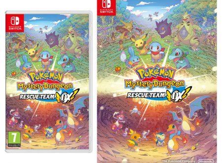 Pokémon Mystery Dungeon: Squadra di Soccorso DX, ora in pre-order con un poster sul Nintendo UK Store