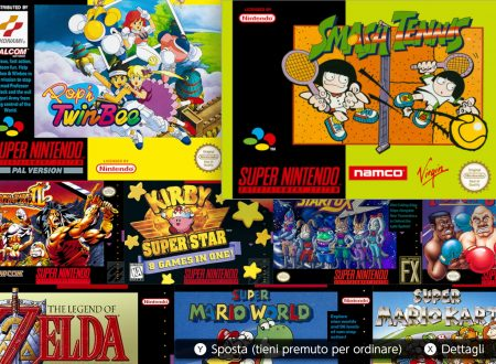 SNES – Nintendo Switch Online: ora disponibile la versione 1.2.0 sui Nintendo Switch europei