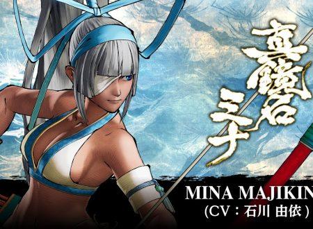 Samurai Shodown: pubblicato un nuovo trailer nipponico su Mina Majikina