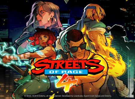 Streets of Rage 4: pubblicato un trailer dedicato all'Art Style del titolo