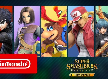Super Smash Bros. Ultimate: pubblicato un video promo dedicato al primo Fighters Pass