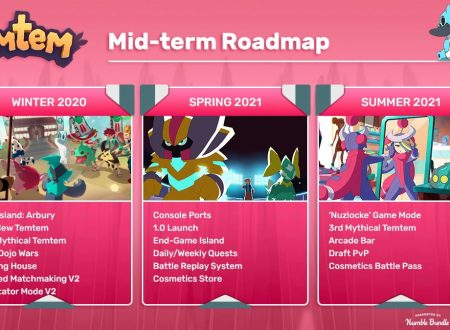 Temtem: il MMORPG ispirato a Pokémon in arrivo nel 2021 su Nintendo Switch