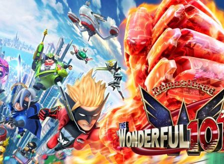 The Wonderful 101: Remastered, il titolo in arrivo su Nintendo Switch grazie ad una campagna Kickstarter