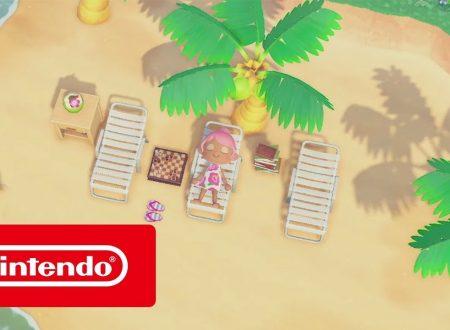 Animal Crossing: New Horizons, pubblicato il video spot, La tua isola, la tua vita!