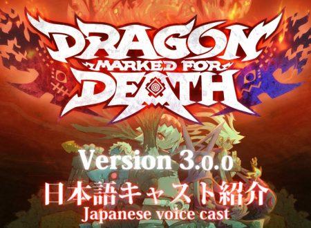 Dragon: Marked for Death: la versione 3.0.0  è ora disponibile su Nintendo Switch