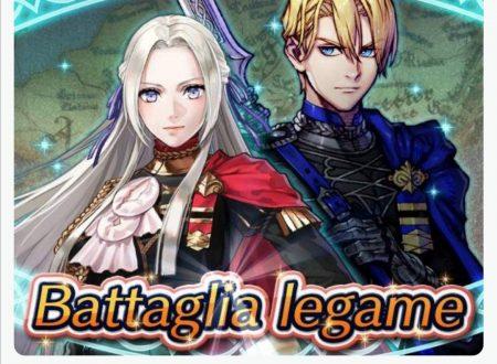 Fire Emblem Heroes: ora disponibile la nuova Battaglia legame, Edelgard e Dimitri