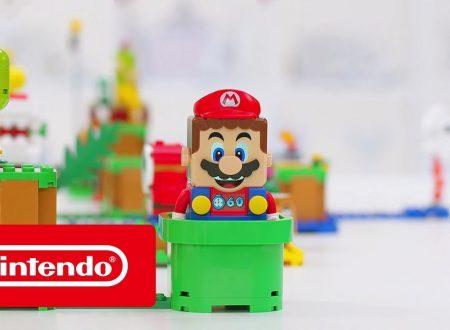LEGO Super Mario: annunciato l'arrivo di un set in collaborazione con Nintendo