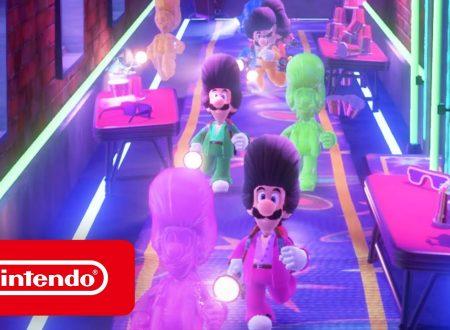 Luigi's Mansion 3: il titolo aggiornato alla versione 1.3.0 sui Nintendo Switch europei
