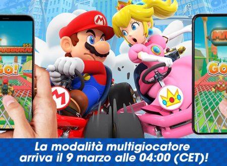 Mario Kart Tour: la modalità multiplayer online in arrivo il 9 marzo su Android e iOS