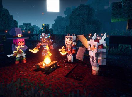 Minecraft Dungeons: il titolo è in arrivo il 26 maggio su Nintendo Switch