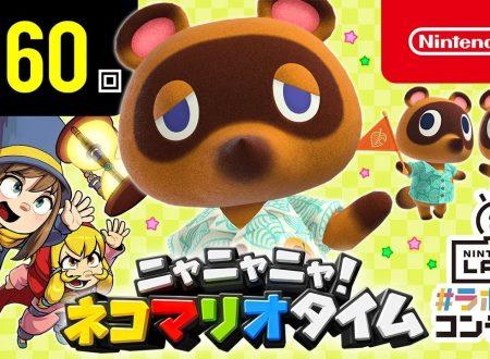 Nyannyan Neko Mario Time: pubblicato l'episodio 160 dello show felino con Mario e Peach