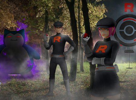 Pokémon GO: il Team Rocket rafforza danni dei Pokémon ombra leggendari e non