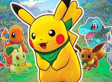 Pokémon Mystery Dungeon: Squadra di Soccorso DX: il titolo aggiornato alla versione 1.0.2 su Nintendo Switch