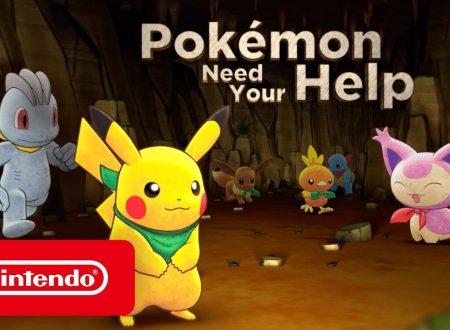 Pokémon Mystery Dungeon: Squadra di Soccorso DX: pubblicato il video promo, Pokemon Need Your help