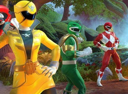 Power Rangers: Battle For The Grid, ora disponibile la versione 2.1.0 sui Nintendo Switch europei