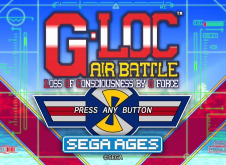 Sega Ages G-LOC Air Battle: uno sguardo al titolo dai Nintendo Switch giapponesi
