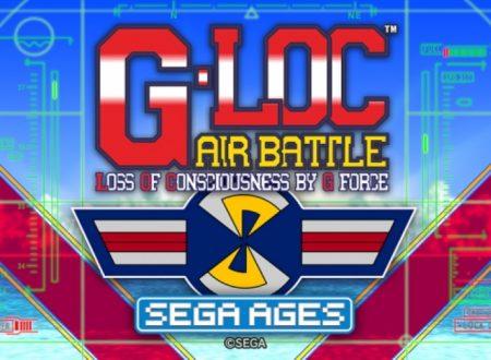 Sega Ages G-LOC Air Battle: il titolo in arrivo il 26 marzo sui Nintendo Switch giapponesi