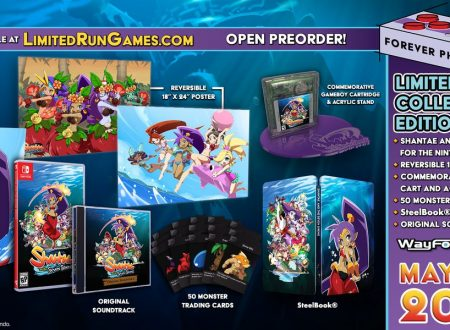 Shantae and the Seven Sirens, mostrata nel dettaglio la Collector's Edition su Nintendo Switch