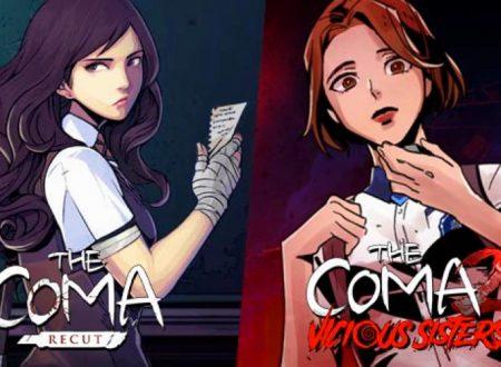The Coma: Double Cut, la raccolta in arrivo il 6 agosto sui Nintendo Switch giapponesi