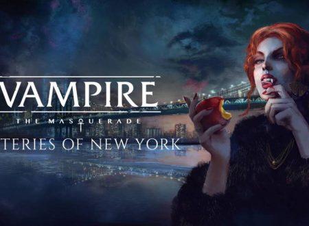 Vampire: The Masquerade – Coteries of New York in arrivo il 24 marzo su Nintendo Switch