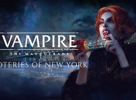 Vampire: The Masquerade – Coteries of New York, uno sguardo in video al titolo dai Nintendo Switch europei