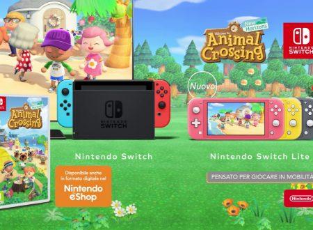 Animal Crossing: New Horizons, pubblicato lo spot promozionale, Divertimento condiviso!
