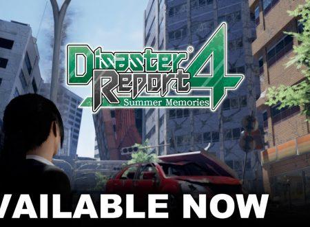 Disaster Report 4: Summer Memories, pubblicato il trailer di lancio del titolo su Nintendo Switch