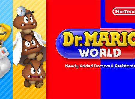 Dr. Mario World: pubblicato un trailer dedicato a Dr. Lakitu e Dr. Goomba