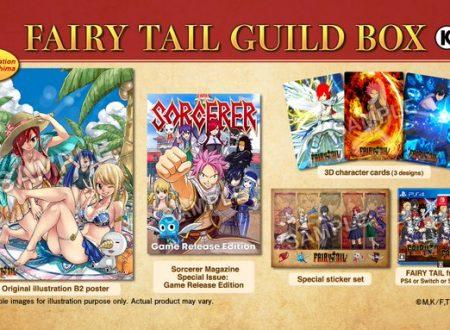 Fairy Tail: annunciato l'arrivo della Guild Box sui Nintendo Switch europei