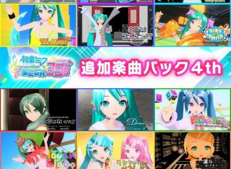 Hatsune Miku: Project Diva MegaMix, svelato l'arrivo della Additional Music Pack 4th e 5th