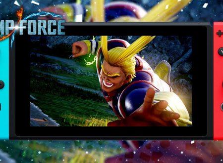 Jump Force Deluxe Edition, il titolo in arrivo nei prossimi mesi su Nintendo Switch