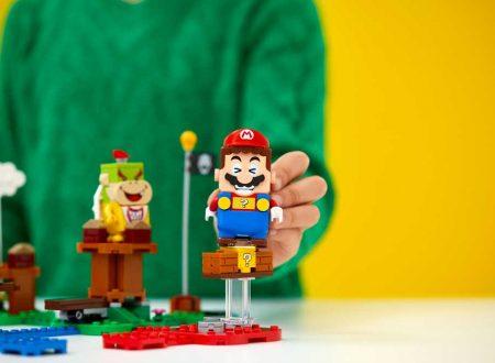 LEGO Super Mario: il set in collaborazione con Nintendo in arrivo ad agosto sugli store europei