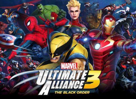 MARVEL ULTIMATE ALLIANCE 3: The Black Order, il titolo ora aggiornato alla versione 4.0.1 su Nintendo Switch
