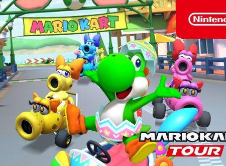 Mario Kart Tour: pubblicato il trailer dedicato al Tour Yoshi, disponibile ora nel titolo mobile