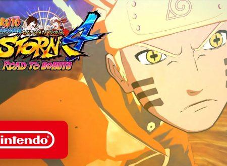 Naruto Shippuden: Ultimate Ninja Storm 4 Road to Boruto, pubblicato il trailer di lancio del titolo