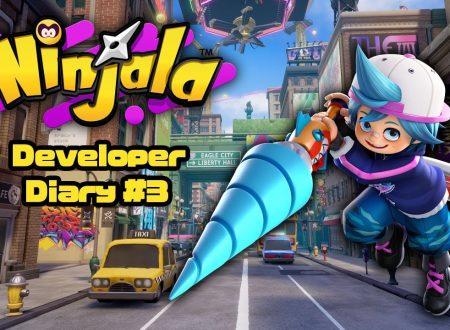 Ninjala: nuove informazioni sulla beta VIP Experience, dalla terza parte del diario degli sviluppatori