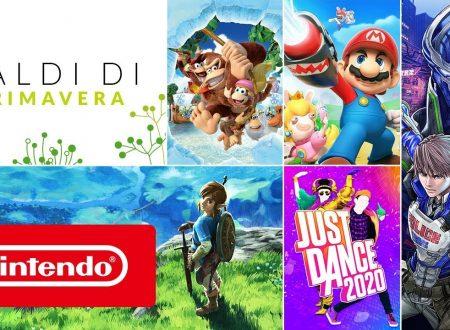 Nintendo eShop: svelati i saldi di primavera 2020 per i titoli su Nintendo Switch