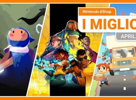 Nintendo eShop: video highlights dei titoli del mese di aprile 2020