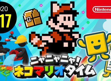 Nyannyan Neko Mario Time: pubblicato l'episodio 161 dello show felino con Mario e Peach
