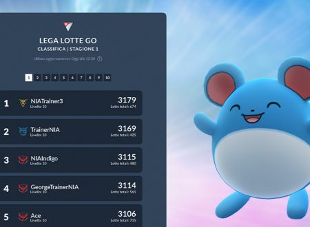 Pokémon GO: svelata la nuova classifica della Lega Lotte GO e la giornata Lotte GO: Marill!