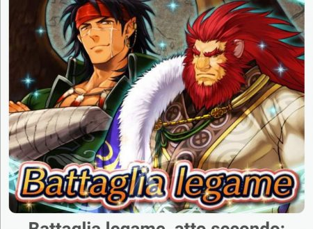 Fire Emblem Heroes: ora disponibile la Battaglia Legame: Tibarn e Caineghis, atto secondo