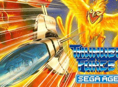 Sega Ages: Thunder Force AC, pubblicati nuovi screenshots sul classico in arrivo su Nintendo Switch