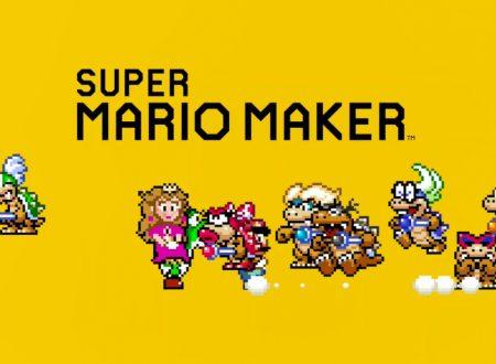 Super Mario Maker 2: il titolo ora aggiornato alla versione 3.0.0 sui Nintendo Switch europei