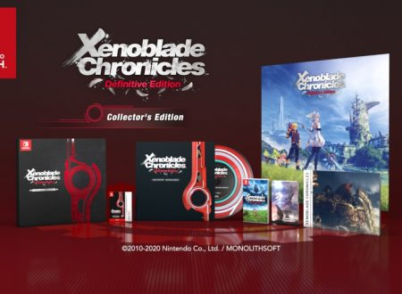 Xenoblade Chronicles: Definitive Edition, pubblicato un trailer sulla Collector's Edition