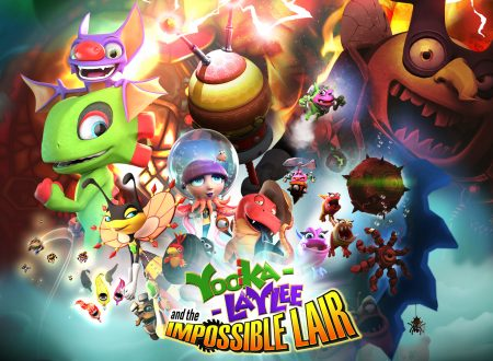 Yooka-Laylee and the Impossible Lair, annunciato l'arrivo di update su Nintendo Switch