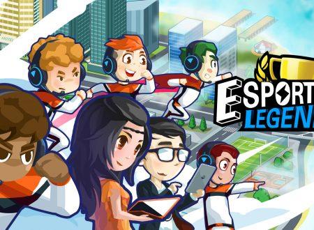 eSports Legend: uno sguardo in video al titolo dai Nintendo Switch europei