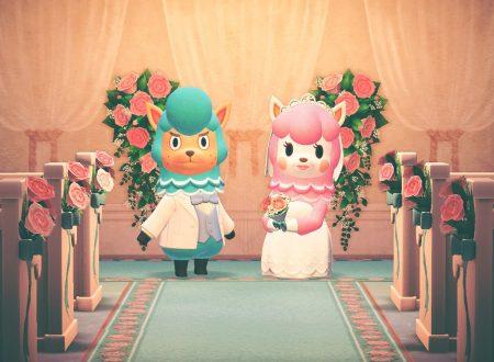 Animal Crossing: New Horizons, pubblicati nuovi screenshots dedicati alla Stagione Dei Matrimoni