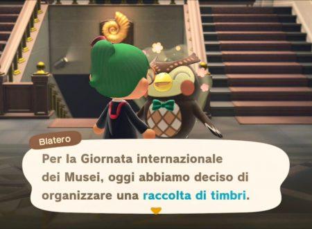 Animal Crossing: New Horizons, uno sguardo alla raccolta dei timbri della Giornata internazionale dei Musei