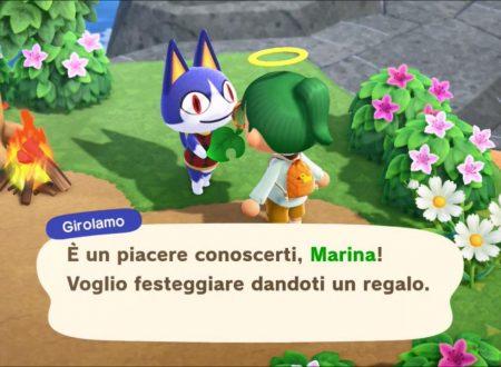 Animal Crossing: New Horizons, uno sguardo in video al Viaggio primo maggio e il ritorno di Girolamo