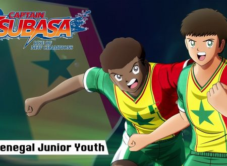Captain Tsubasa: Rise of New Champions, pubblicato un trailer sul Senegal Junior Youth team